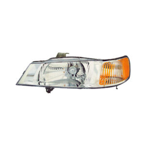Fits 99 04 Honda Odyssey Driver Left Side Headlight Lamp Assembly Lh