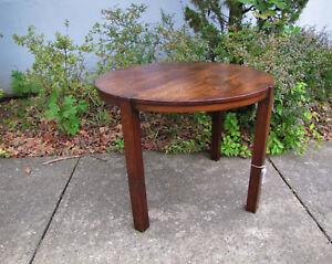 Antique Arts Crafts Round Table W5391 Stickley Era