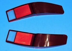 1974 1975 1976 1977 1978 Ford Ranchero Oem Tail Light Lamp Lens Pair