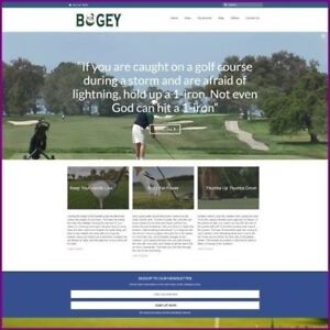 Fully Stocked Dropshipping Golf Website Business For Sale Domain Hosting