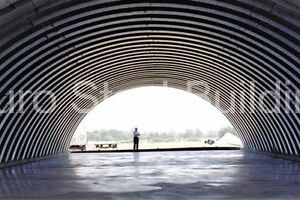 Durospan Steel 40x100x18 Metal Arch Quonset Hut Building Shed Open Ends Direct