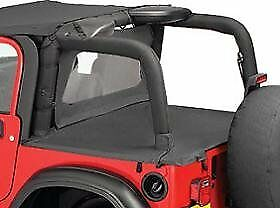 Bestop Duster Deck Cover 03 06 Jeep Wrangler Tj Black Diamond Factory Hard Top