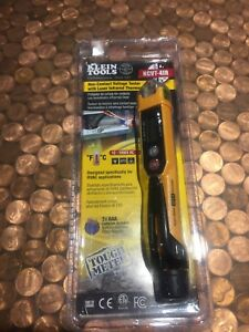 New Klein Tools Voltage Tester W Infrared Thermometer non contact Ncvt 4ir