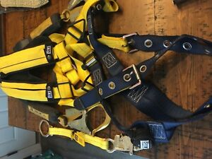 Sala Delta Full Body Harness With Shoulder Pads 2 Self Retracting Lifelines