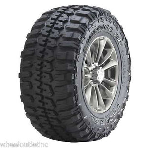 4 New 33x12 50r20 Federal Tires Couragia Mt Tire 33 12 50 20 10 Ply 33x12 50x20