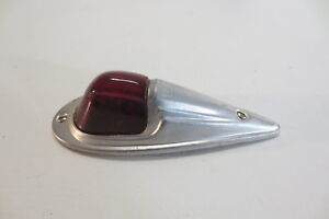 Do Ray 410 Vintage Fender Light Truck Cab Motorcycle Red Glass Lens Tail Lamp