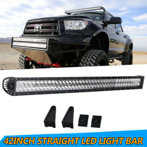 Cree 960w 42inch Led Work Light Bar Offroad Driving Combo Lamp 4wd Truck 40 44