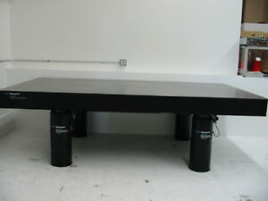 Tested Crated 8 Newport Rs 4000 Optical Table I 2000 Vibration Isolation Laser