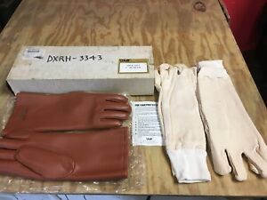 New Wolf X ray Protective Gloves 5mm Lead 15 With 2 Pairs Of Cloth Liners