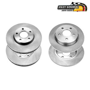 Front And Rear Premium Brake Rotors For 2012 2013 2014 Ford Focus