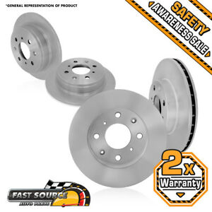 Fits Front Rear Rotors 2000 2001 2002 2003 2004 Ford Focus Lx Se Zts Ztw Zx3 Zx5