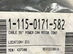 115 0171 582 Raven 35 Can Power Cable For Motor Control