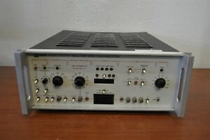 Unigon 4512 Fft Real Time Spectrum Analyzer As is