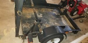 2012 Utility Quad Trailer Used Needs Wiring Has Excellent Tires Gvwr 1980 Lbs