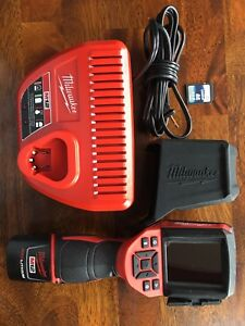 Milwaukee 2258 21 M12 Lithium ion Cordless Thermal Imager Imaging Tool 2258 20