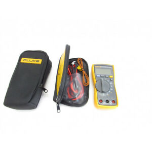 Fluke 115 Compact True rms Digital Multimeter With Polyester Carrying Case