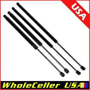 4 Pack 2 Hood 2 Liftgate Gas Charged Lift Supports Struts Fits Buick Enclave