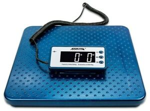 Digital Shipping Scale Postal Heavy Duty Metal 440lb Weighing Mail Screen Small