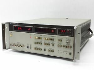 Hp Agilent 4274a Hp ib 100hz 100khz Multi frequency Digital Lcr Meter opt 002
