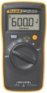 Fluke 101 Handheld Digital Multimeter Test Leads Advanced Version