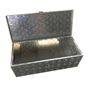 29 Aluminum Truck Tongue Lock Storage Tool Box For Pickup Trailer Rv Underbed