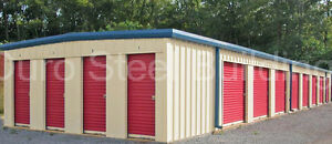 Duro Steel Mini Self Storage 20x120x8 5 Metal Building Prefab Structures Direct