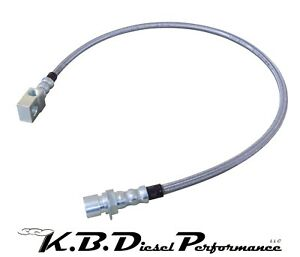 Stainless Extended Rear Brake Hose Chevy Gmc 2007 2010 6 6l Duramax 2500 3500