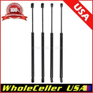 2pcs Tailgate 2pcs Window Gas Charged Lift Supports Fits 2001 2007 Ford Escape