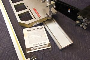 Powermatic Sliding Table Attachment St 1 For A 66 Table Saw