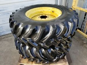 John Deere Goodyear Set Of 2 Wheels Tires 16 9 r26 16 9x26