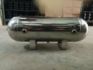 200psi 1 4 Universal Stainless Air Tank 3gallon 11litre 5ports Ride Suspensiona