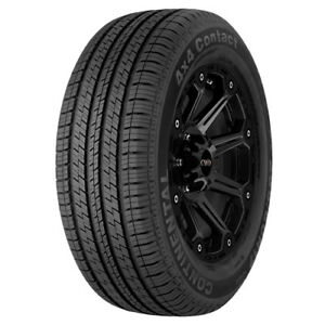 2 255 55r19 Continental 4x4 Contact 111v Xl 4 Ply Bsw Tires