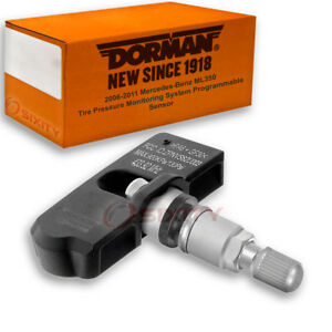 Dorman Tpms Programmable Sensor For Mercedes benz Ml350 2006 2011 Tire Tq