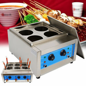 Top Commercial 4 Basket Electric Noodles Cooker Pasta Cooking Machine 110v 4kw