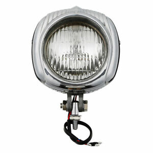 Electroline M10 Bolt Headlight Headlamp For Harley Bobber Custom Bike Chopper