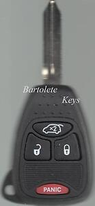 Replacement Remote Key Fob For 2008 2009 2010 2011 2012 2013 Dodge Avenger