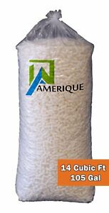 Amerique Amwp14cfpk1 14 Cubic Feet Recycled Polystyrene Anti static Loose Fill