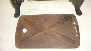 Vintage 1948 1949 1950 1951 1952 1953 Dodge Truck Floor Pan Battery Box Cover