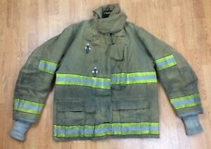 Globe Gx 7 Firefighter Bunker Turnout Jacket 46 Chest X 32 Length