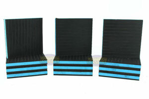 12 Pack Anti Vibration Pad Isolation Dampener Industrial Heavy Duty 6x6x7 8 Blue