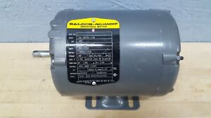 Baldor 25 Hp 1725 Rpm Electric Motor 208 230 460v 3 Phase Frame 48 Used