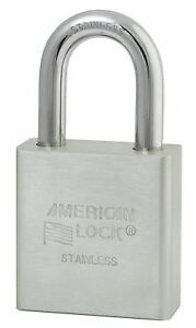 American Lock Different keyed Padlock Extended Shackle Type 1 1 8 Shackle