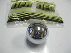 Chevelle Malibu 4 Speed Shift Knob Ball Muncie Shifter 5 16 Chrome 64 68