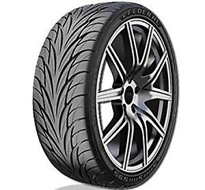 4 New Federal Ss 595 215 45r17 87v Tire Ss 595 215 45 17 Ss595 2154517