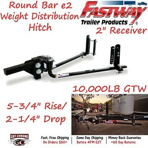 94 00 1000 Fastway Trailer Steel E2 Weight Distribution Hitch With 10 000 Lb Gtw