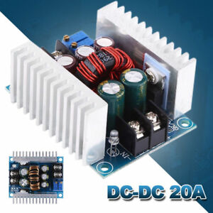 10xdc dc Converter 20a 300w Step Up Step Down Buck Boost Power Adjustablecharger
