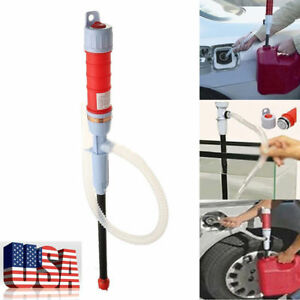 Us Battery Powered Liquid Transfer Pumps Water Fish Tank Gas Oil Siphon Transfer