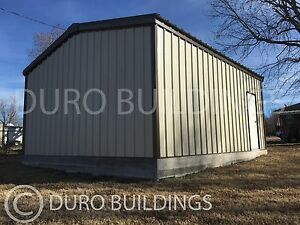 Durobeam Steel 24x30x10g Metal Building Kits Diy Prefab Garage Workshop Direct