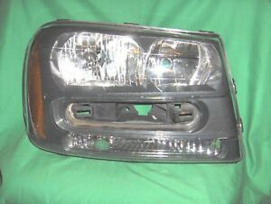 1918 Headlight Headlamp Rh Passenger Side For 02 09 Chevy Trailblazer Oe