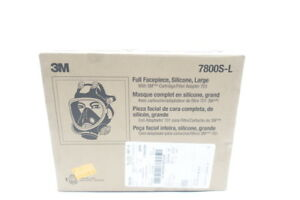 3m 7800s l Large Full Face Respirator